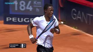 Hot Shot: Cecchinato's Perfect Drop Shot At Hamburg 2018