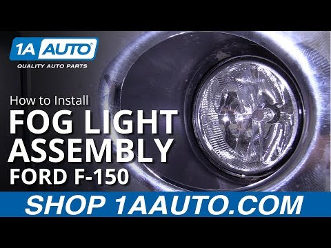 How to Replace Fog Light Housing 11-14 Ford F 150