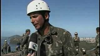 Força de Elite do Exército realiza treinamento em Vila Velha