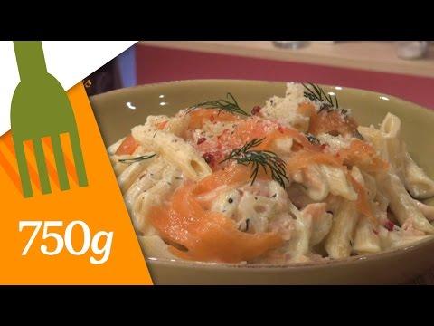 recette-de-pâtes-au-saumon---750g