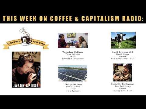 Coffee & Capitalism Radio:  Drug Testing Tricks, Super Batteries and Music Biz