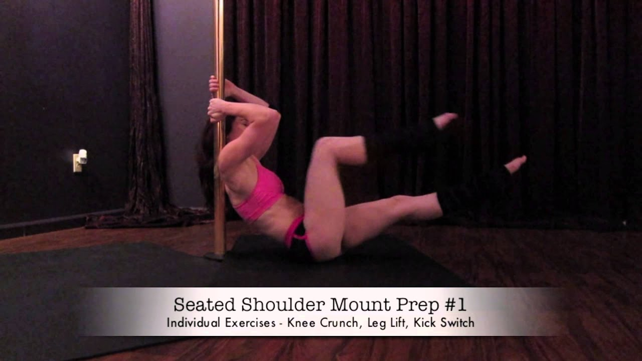 Stripper exercise video