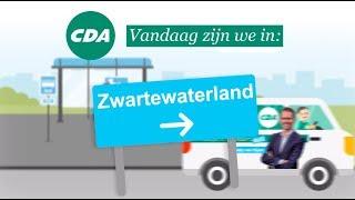 Zwartewaterland is halte nummer 10 in de Altijd in de Buurt Bustour