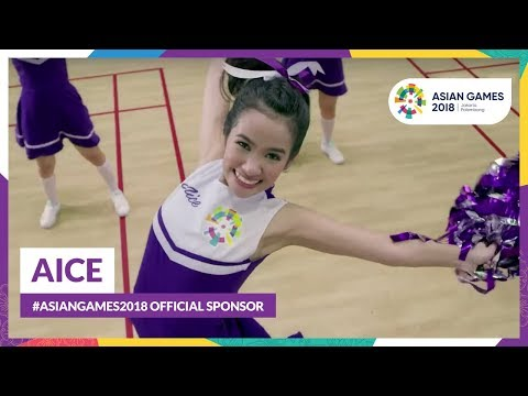 Aice: #AsianGames2018 Official Sponsor
