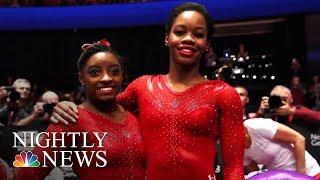 Olympics Star Gabby Douglas Says Team Doctor Larry Nassar Abused Her   NBC Nightly News