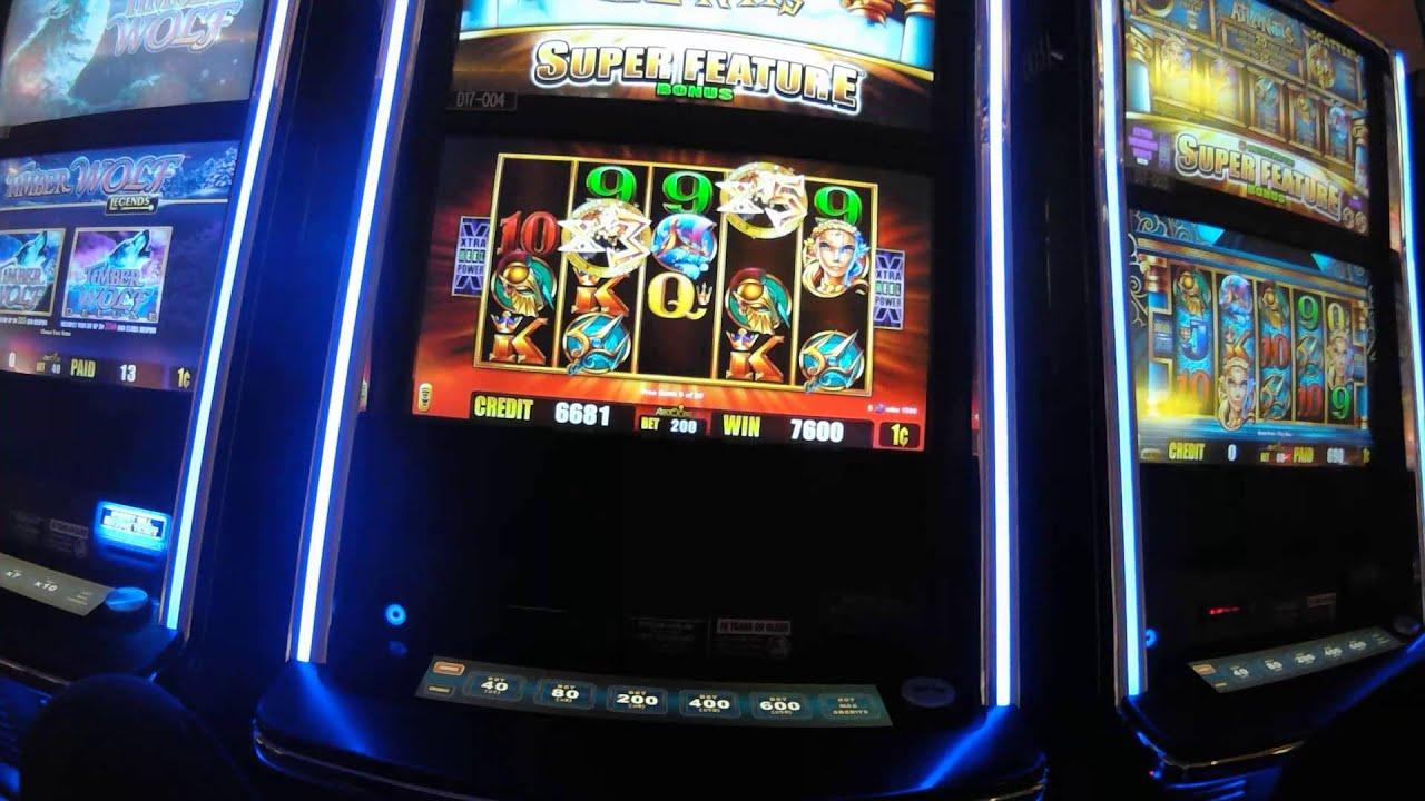 free slot machine bonus feature
