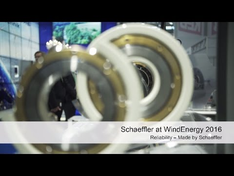 Schaeffler at 2016 WindEnergy Hamburg [Schaeffler]