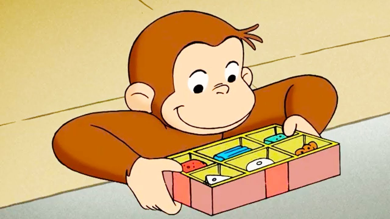 Jorge el Curioso en Español Castellano 🐵Bombones 🐵El Mono Jorge 🐵Dibujos Animados Para Niños