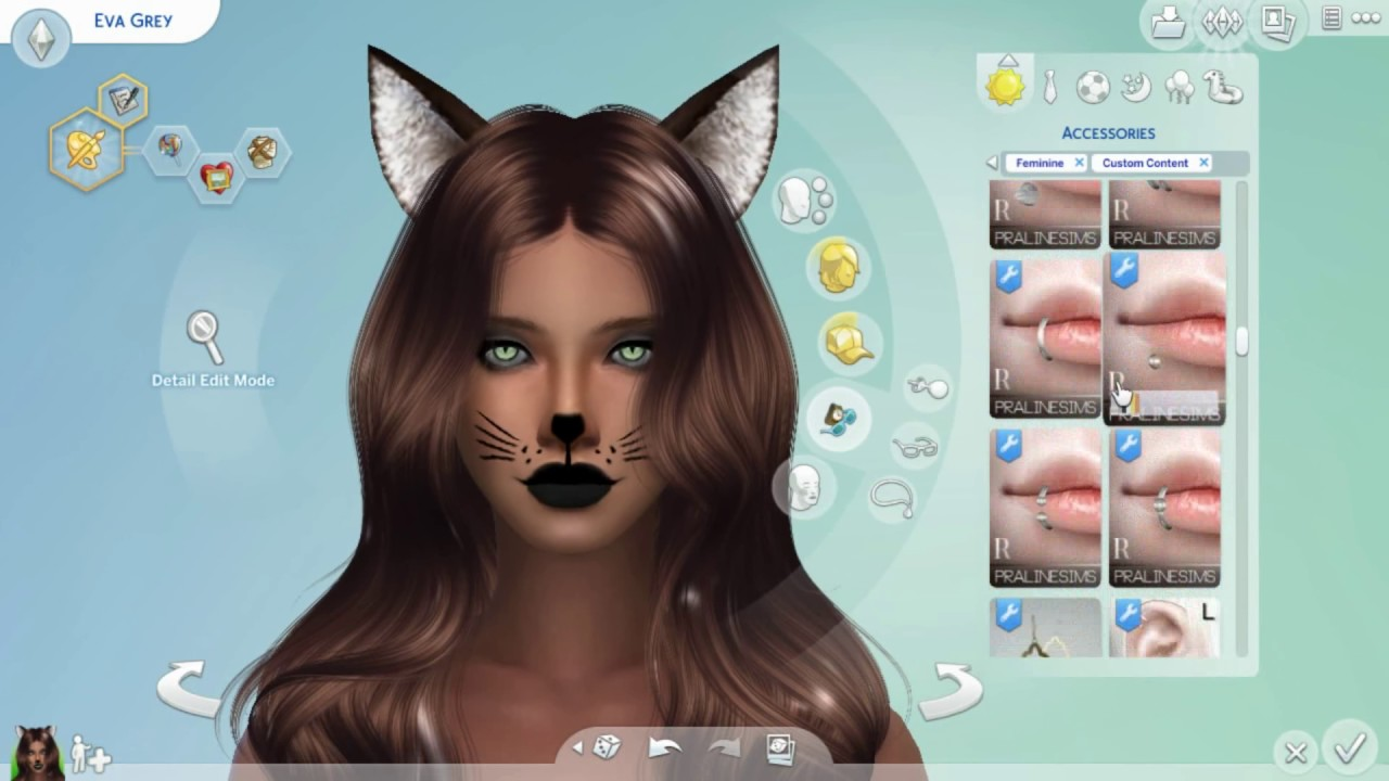 Sims  Hair Cats And Dogs With Out Ears