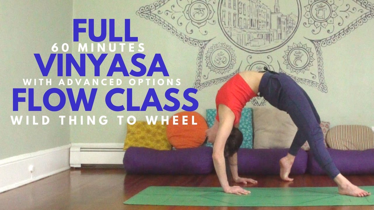 60 Minute Vinyasa Yoga Class Advanced Intermediate Arm Balances