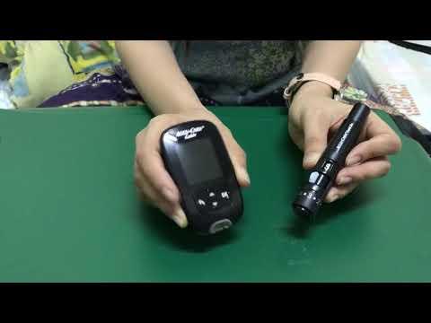 วิธีการเจาะวัดระดับน้ำตาลในเลือดด้วยเครื่อง Accu-Chek Guide | ร้านยาคุณภาพ ดรักแอนด์ฟาร์มา