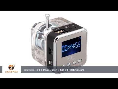 NiZHi TT-028 MP3 Mini Digital Portable Music Player Micro SD USB FM Radio (Black) | Review/Test