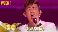 Kevin McHale: Glee Star PROVES Everyone Why He Is Good As Hell! | The X Factor 2019: Celebrity