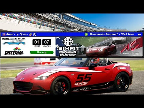 simpit north american mazda mx5 cup series on sim racing. Black Bedroom Furniture Sets. Home Design Ideas