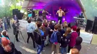 "Stage diving ""Саженцы"" Вельск"