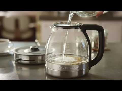 How To Clean the KitchenAid® Glass Tea Kettle