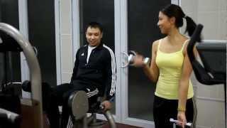 видео SportImho.ru - Приколы в тренажерном зале