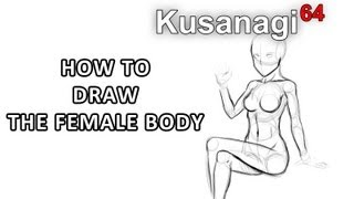 How to Draw a Girl / Woman 's Body