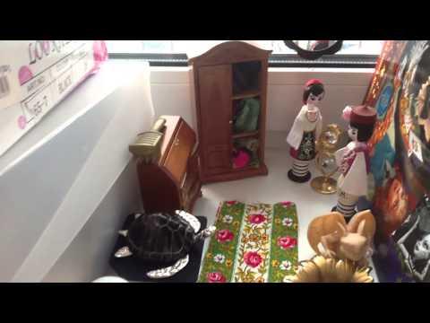 видео: Мой самодельный домик монстер хай