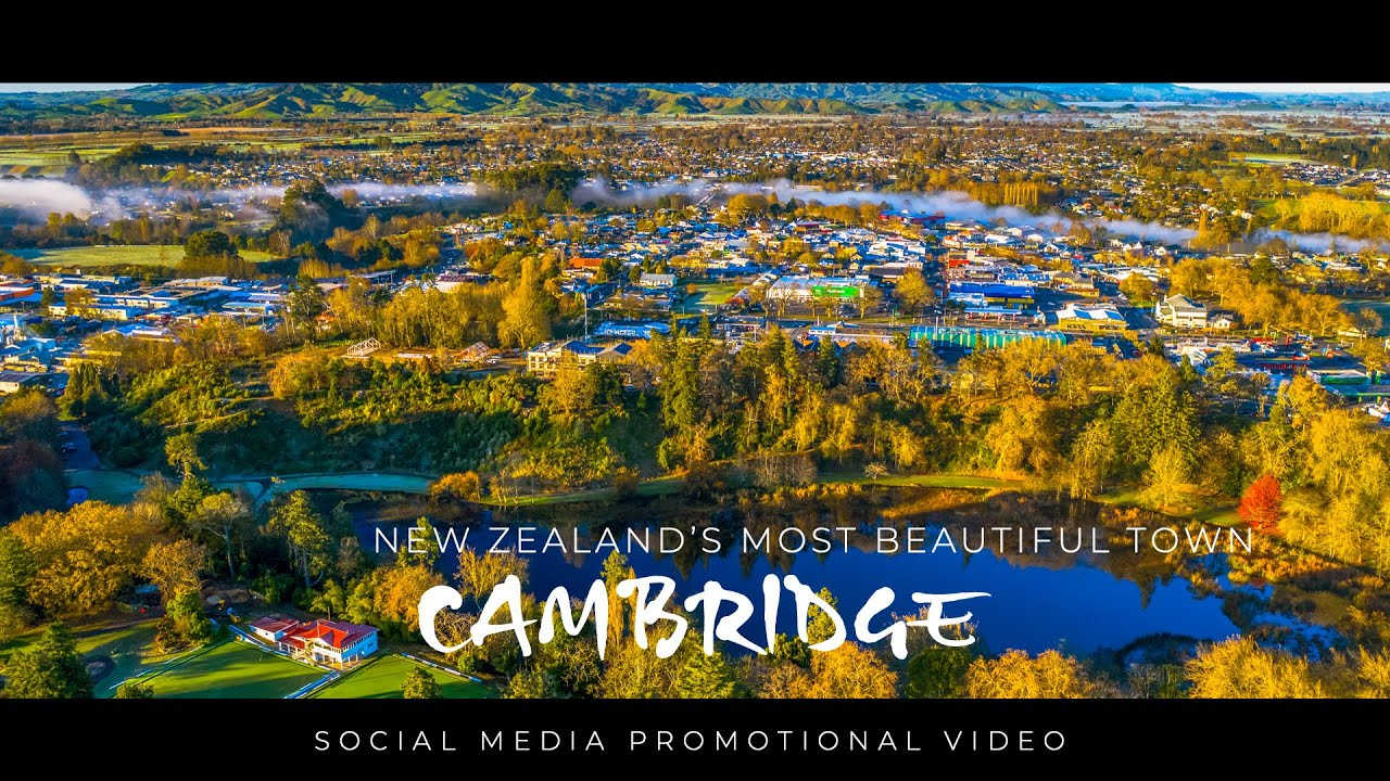 CAMBRIDGE - Officially NZ's most beautiful large town.