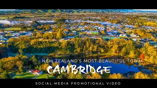 CAMBRIDGE: Officially New Zealand's most beautiful large town.