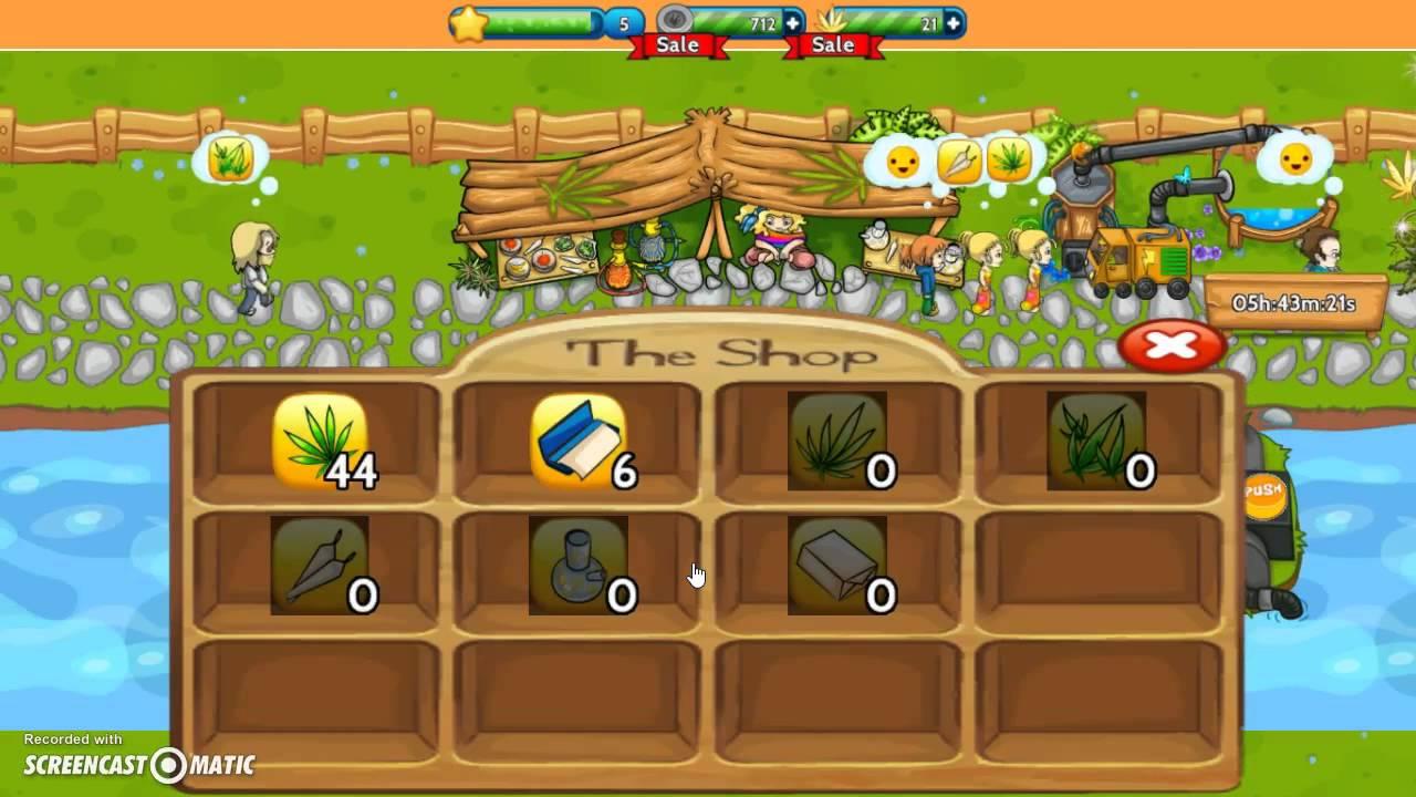 Garden Of WeedGame Play YouTube