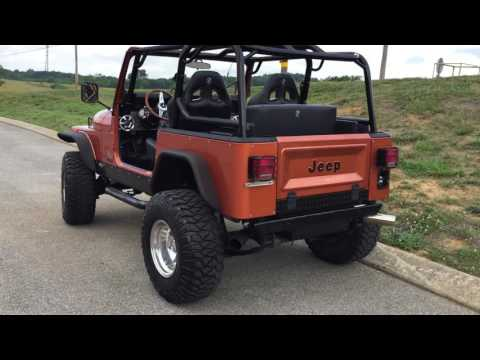 1985 CJ7 with SBC for sale