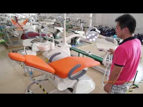 How to install Dental unit and Dental chair