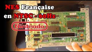 NES Française moddée en NTSC - 60Hz - RGB