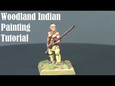 Woodland Indian Painting Tutorial