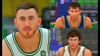 Gordon Hayward from NBA 2K11 to NBA 2K18! #BOS #PS4