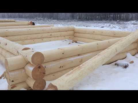 Сруб дома 6х9 5-стен диаметр бревна 27-30см. в г.Коломна. 89271904521