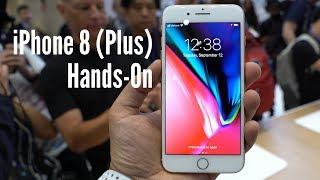 iPhone 8 und iPhone 8 Plus im Hands-On (deutsch): Bekanntes Design, neues Innenleben
