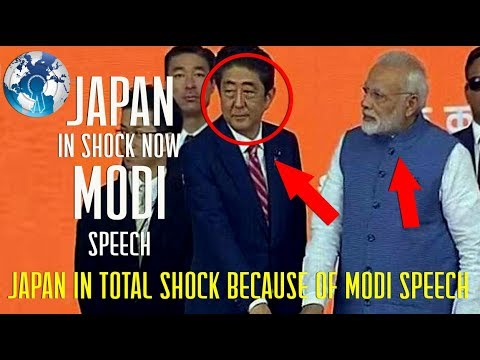 Japan is in Total Shock of Narendra Modi speech and what he did