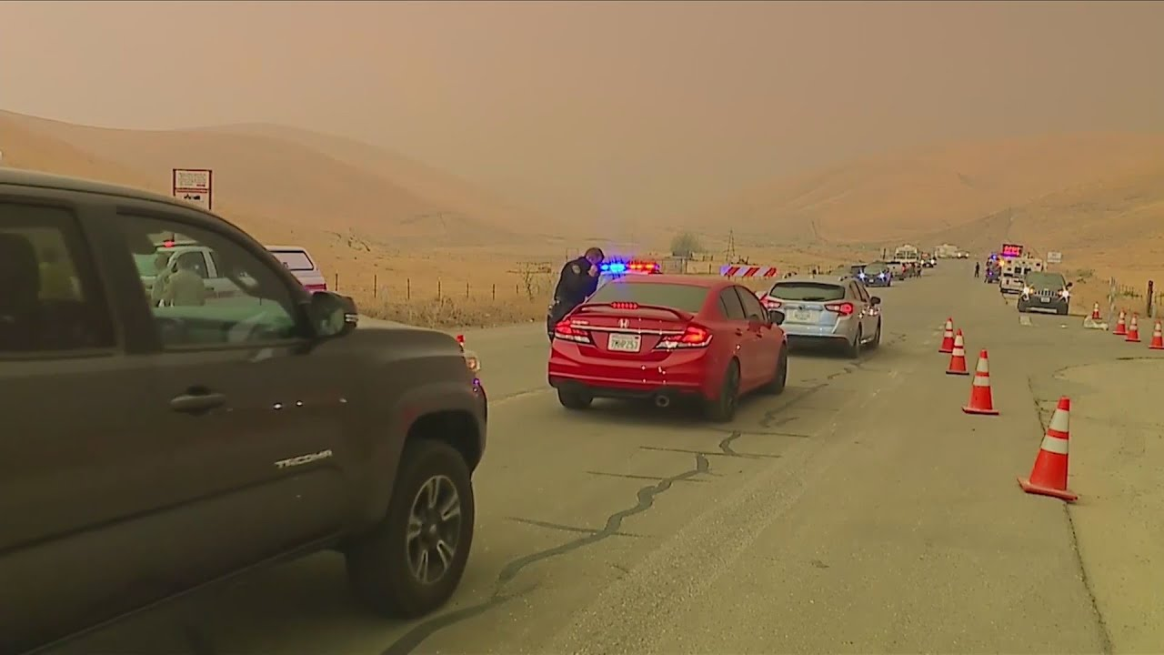 KSEE 24 News Parts of Merced County under evacuation warning due to SCU Lightning Complex Fire