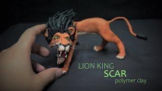 Lion king 2019 Scar - polymer clay tutorial