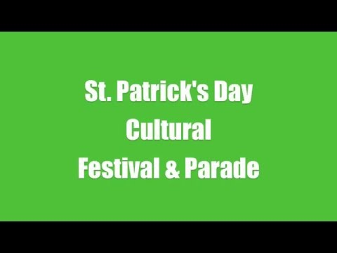 St. Patrick's Day Promo 2/6/2016