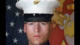 Tribute To Our Fallen Soldiers - US Marine Lance Cpl. Kenneth E. Cochran, 20, of Wilder, Idaho.