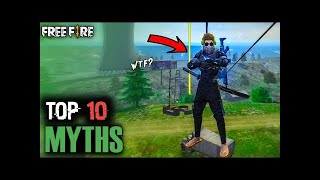 Top 10 Myth busters in free fire/ FreeFire Myth #2/Bng Army