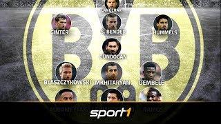 BVB-Ausverkauf: Die Top-Elf der Dortmund-Abgänge   SPORT1