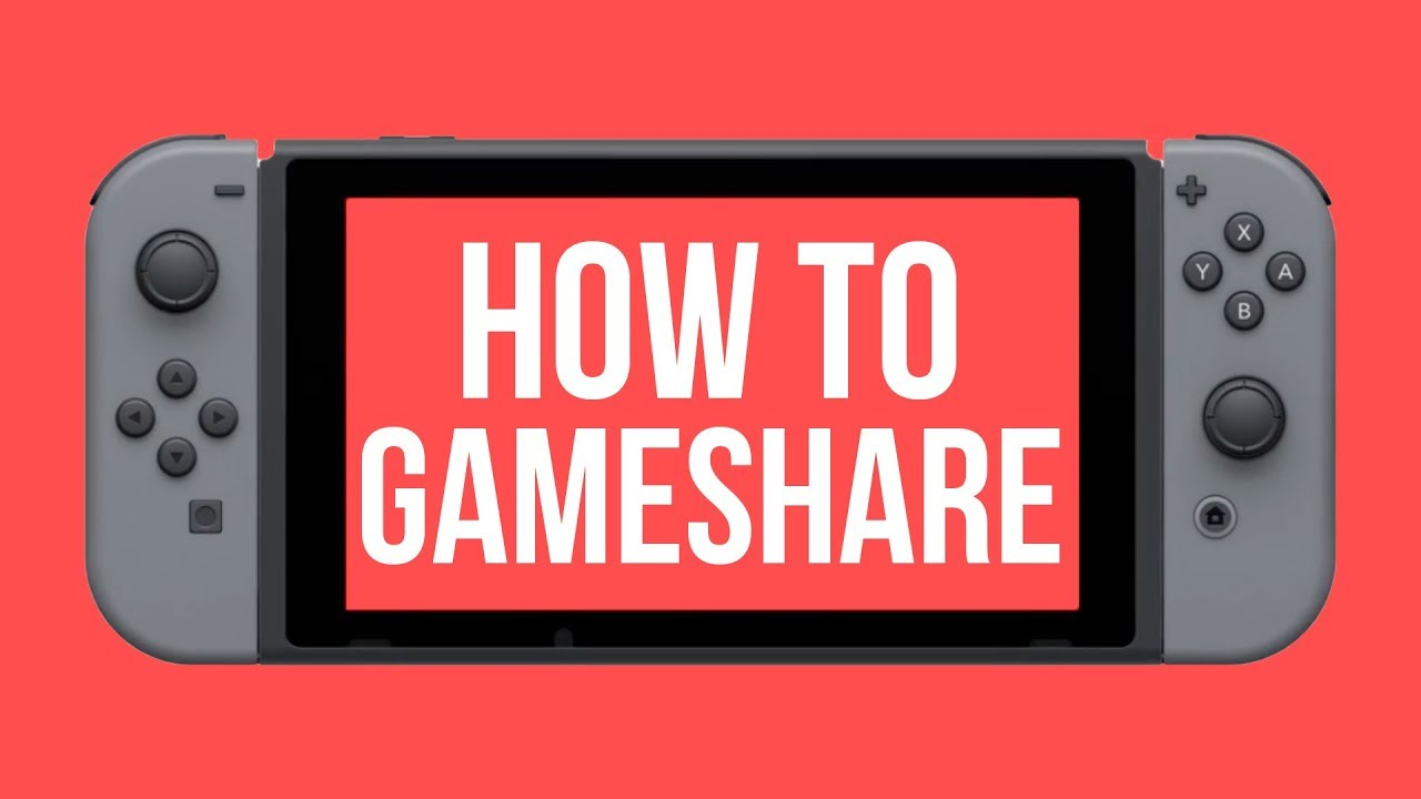 How To Properly Setup Game Sharing On Nintendo Switch Play The Same Game At The Same Time Youtube