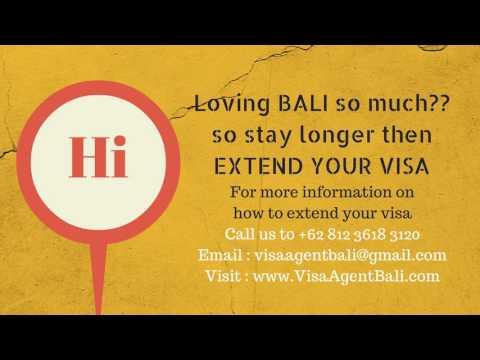 Bali Visa With Criminal Record Call NOW +62 812 3618 3120
