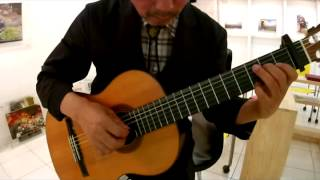Seven daffodils (일곱송이 수선화) - Classical Guitar - Played,Arr. NOH DONGHWAN