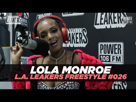 Lola Monroe Freestyle With The L.A. Leakers | #Freestyle026
