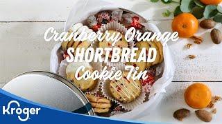 Cranberry Orange Cookies │VIDEO │Kroger