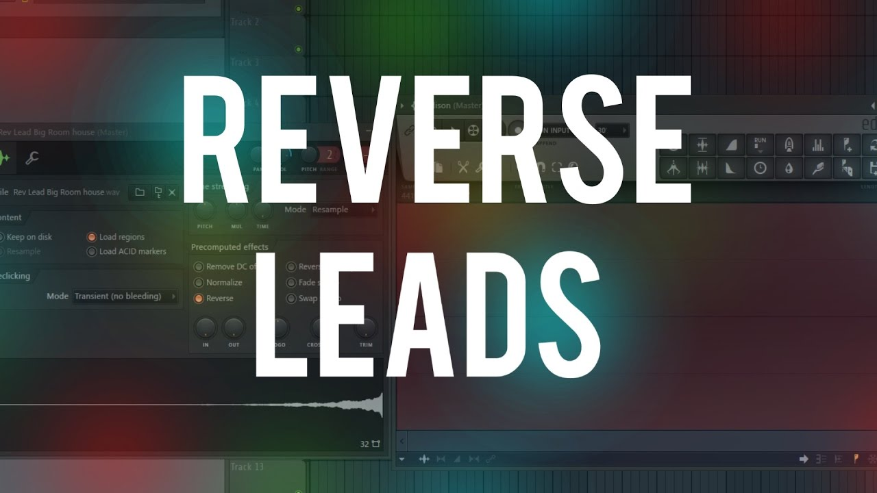 how to get a reverse in fl studio 12