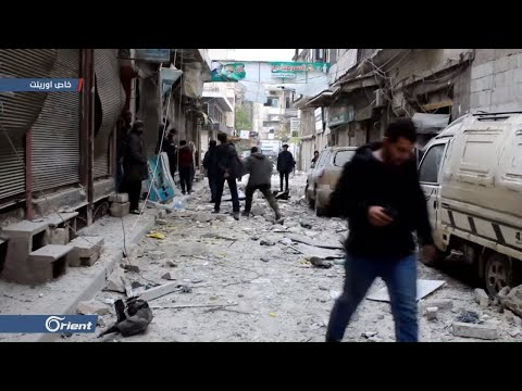 12 قتيلا بقصف جوي لميليشيا أسد الطائفية على مدينة إدلب  - 16:59-2020 / 2 / 11