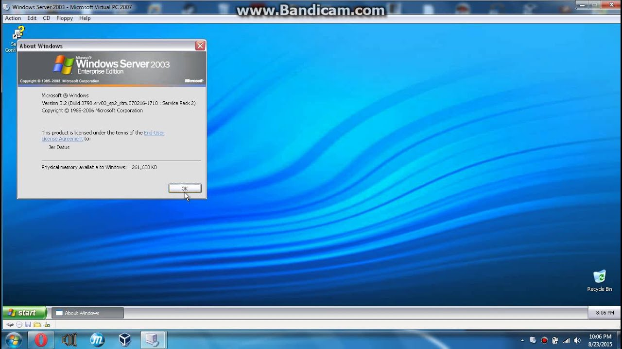 how to create a virtual server on pc