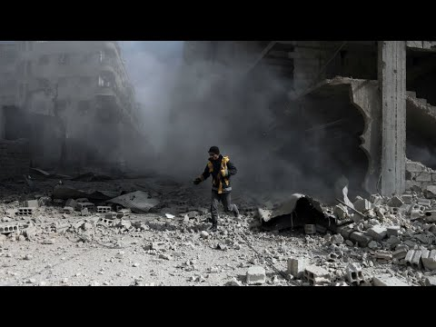 """Syria: Russia's president Putin orders daily """"humanitarian pauses"""" in Eastern Ghouta"""