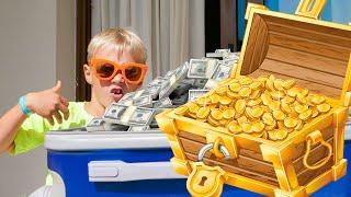 Где Сережа взял столько денег? Скетчи Family kids